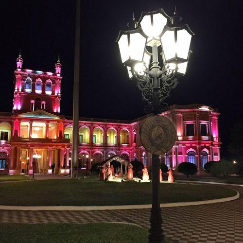 El Palacio de los Lopez Capitol Building Architecture Illuminated Paraguay Asunción City at Night Colorful Lights EyeEmNewHere The City Light The Street Photographer The Architect - 2017 EyeEm Awards The Street Photographer - 2017 EyeEm Awards