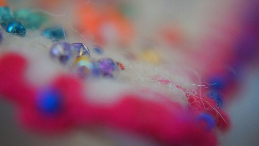 Handmade For You Close-up No People Abstract Fragility Day Indoors  Orgu El Yapımı Boncuk