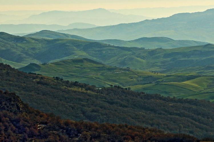 oltre.... Fog Geology Landscape Majestic Mountain Non-urban Scene