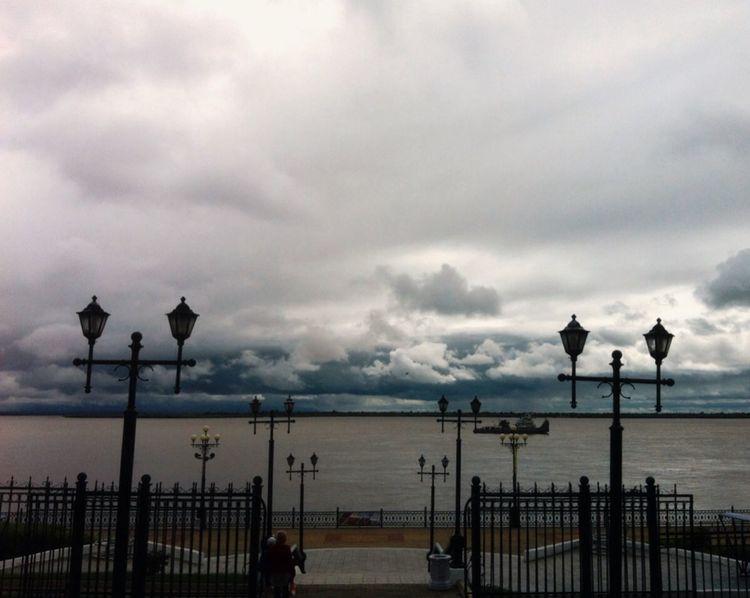 Khv Khv27 Khabarovsk Clouds And Sky Sky River Amur River