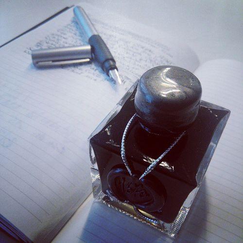 Write Ink 1670 Greyblack lamy x17 paperlove inklove zoomlab