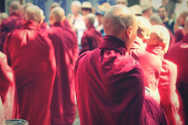 Mahagandayon Monastery Myanmar Amarapura, Myanmar Monastery Kloster Monk  Traveling Wanderlust People Streetphotography Street Photography People Watching Peoplephotography EyeEm Best Shots - People + Portrait