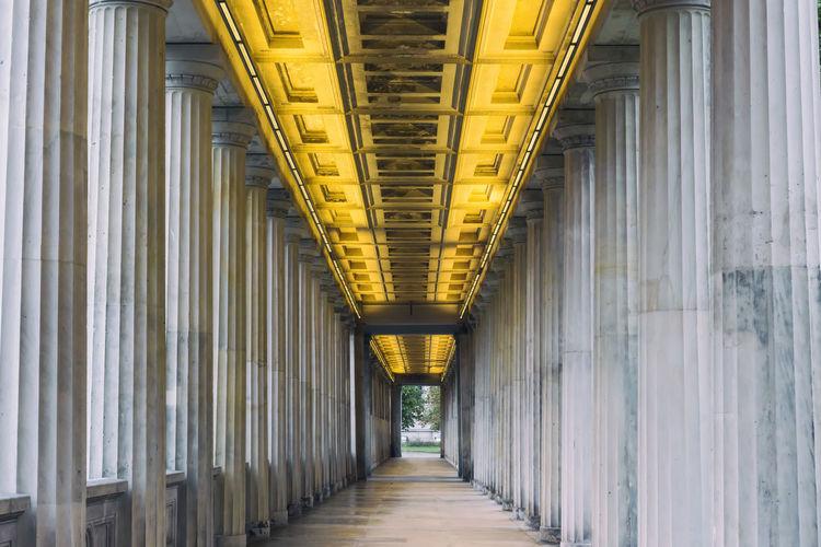 Colonnade At Alte Nationalgalerie