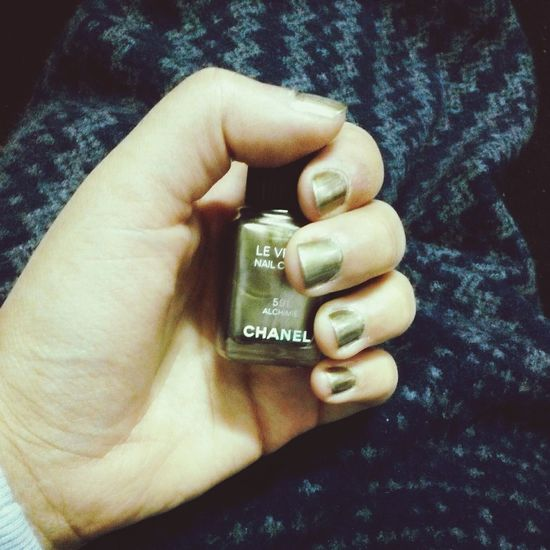 Nailpolish Chanel Nails Alchimie