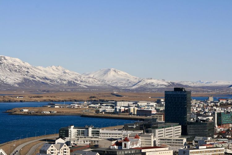 Mountains of Reykjavik Mountain Architecture Built Structure Building Exterior Sky Water City Mountain Architecture Built Structure Building Exterior Sky Water City Winter Nature Mountain Range No People Building Cold Temperature Snow Snowcapped Mountain Clear Sky Beauty In Nature