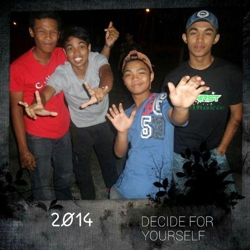On the Night Guadamai Climbingwall . We are young. Friend bestie buddys kawan member