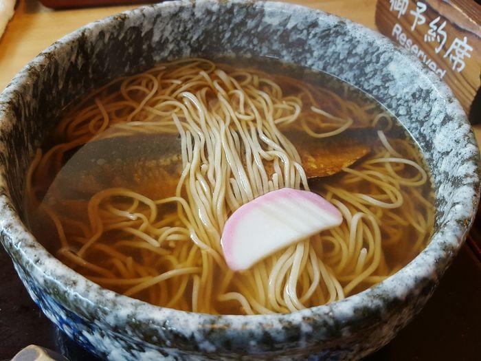 Japanese Food Japan Nishin Soba Soba Noodles Toyohashi