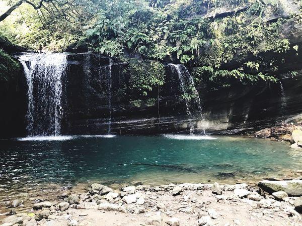 望古瀑布 平溪 望古 瀑布