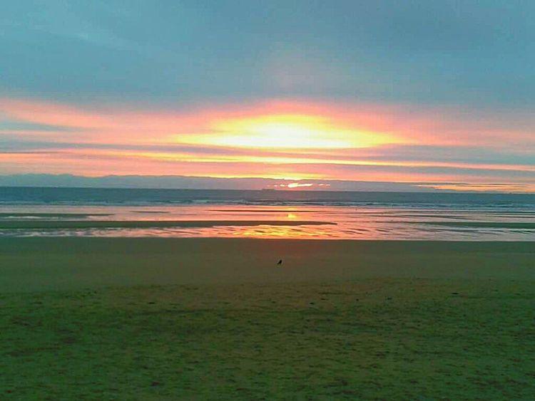 Sunrise Sun Up Beach Sea Water