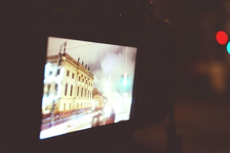 Taking Photos Of People Taking Photos Festival Of Lights 2015 Berlin Humboldt Universität  Nightphotography Looking At Camera Architecture Your Ticket To Europe