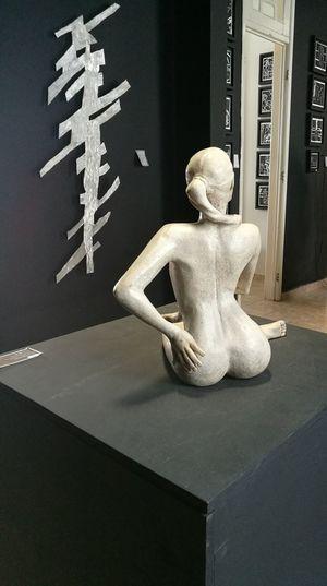 escultura en marmol.Marble sculpture.