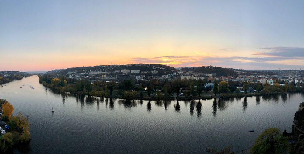 River Sky Water