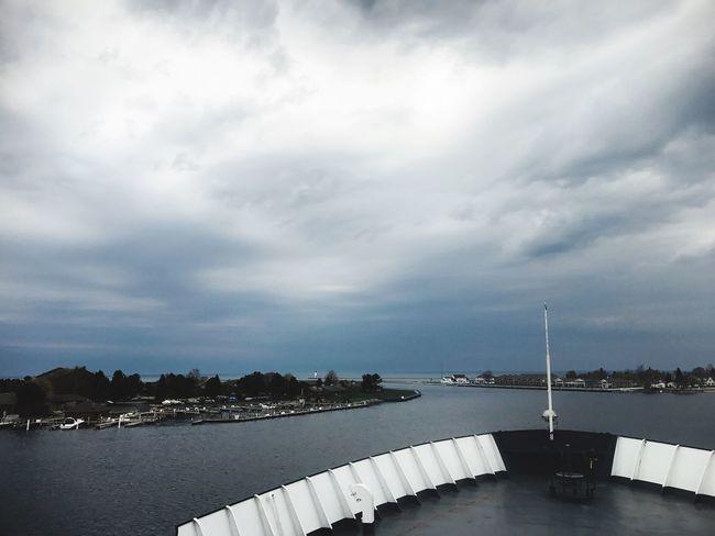In Harbor Nautical Vessel Outdoors Cloud - Sky Pure Michigan Ludington, Michigan Ssbadger Steamship Harbor