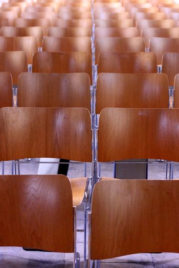Empty Seats At Auditorium