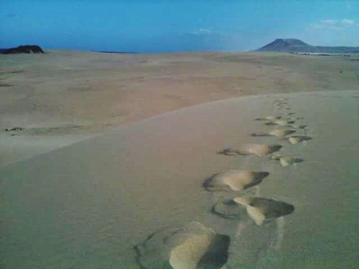 huellas sabbia