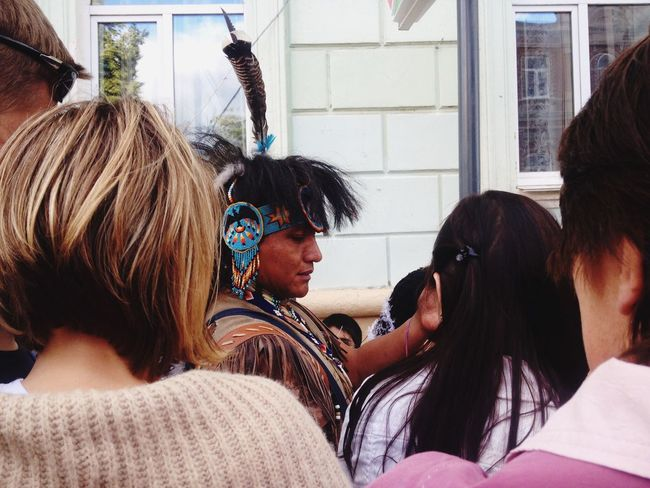 Culture Of India Differences  Outdoors People Interesting Feathers Colors Injun NizhnyNovgorod