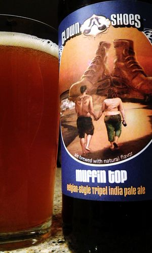 Muffin Top lol funniest name for a beer Clown Shoes Mercury Brewing Co Belgian-style Tripel India Pale Ale I ❤ Beer