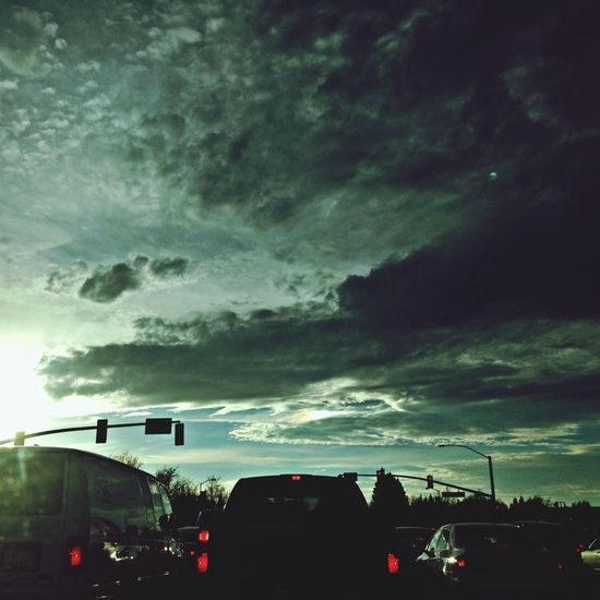Enjoy beautiful sky while on the way home Streetphotography Nature_collection Driving Around Landscape_Collection