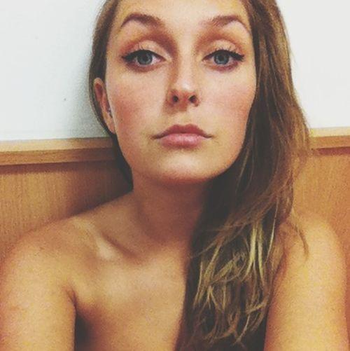 So what?! Girl Blue Eyes Nigh Salty Hair