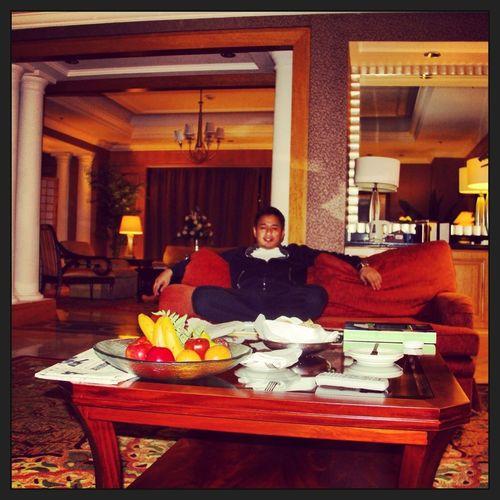At Ritz Carlton Jakarta