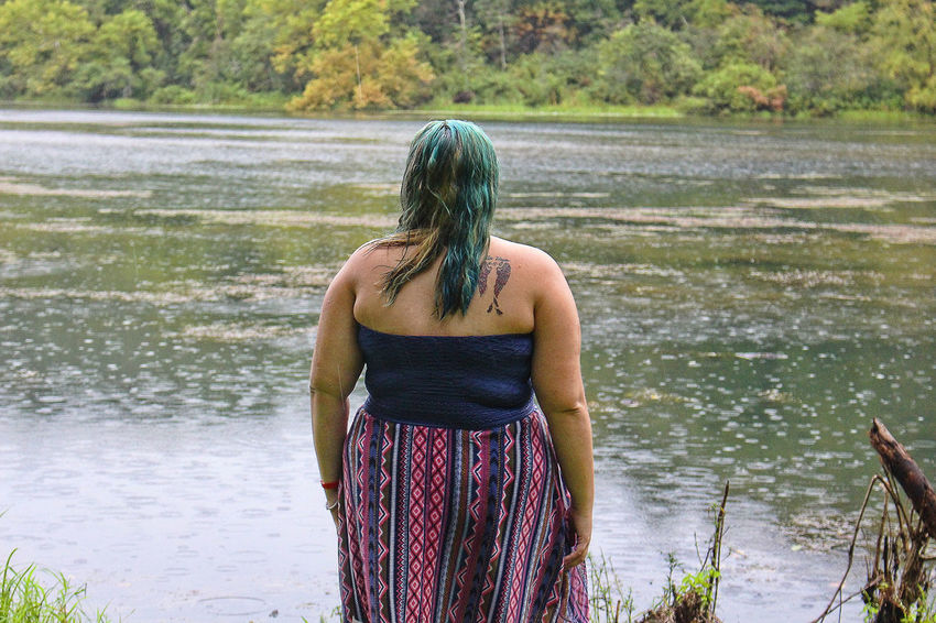Water One Person Standing Wet Outdoors Lake Nature Only Women Beauty In Nature Young Adult Foggy Day Canon_photos 18-55mm Canonphotography CanonT5i Close-up Beauty In Nature Young Women Girl Model Beauty Beautiful Woman Tattoo Life Tattoomodels Tattoowoman