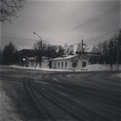 улица петровск зима