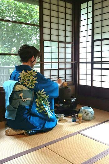 茶道 茶会 Kimono Japanese Culture Japanese Traditional 茶室 Sitting Traditional Clothing 着物 Tea Ceremony Japan Scenery Japanese Style