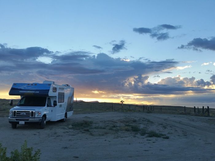 Cruise America Nature No People Outdoors Rv Sunset
