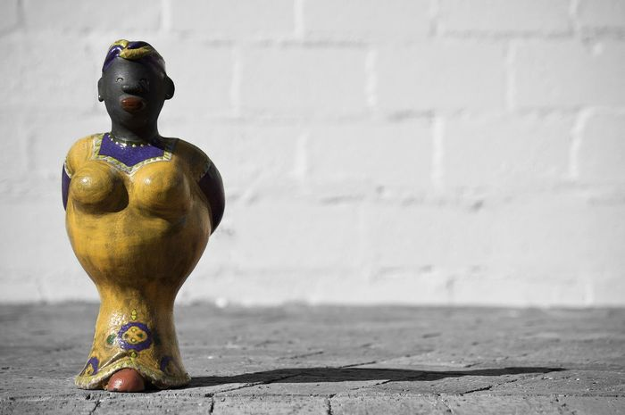 african lady statue Statue Pottery AfricanStyle African Art EyeEm Best Shots