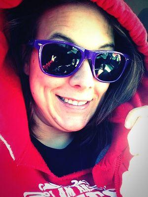 Taking Photos That's Me Enjoying Life Beautiful Girl Taking Selfies Iowa Latepost Smile Cheesin' Shades On Stunna Shades!¡!