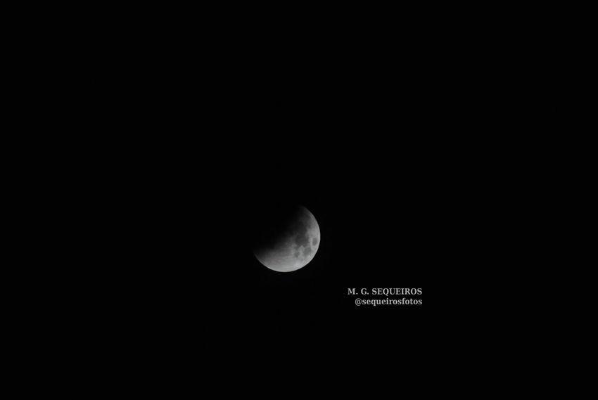Eclipse lunar Coruña Lunar Eclipse