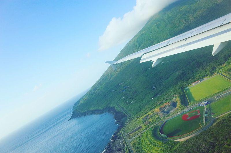 八丈島 Hachijojima Island Airport Airplane