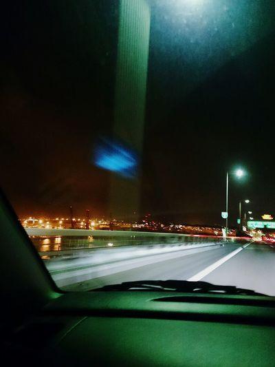 深夜のドライブ 夜 Night お出掛け