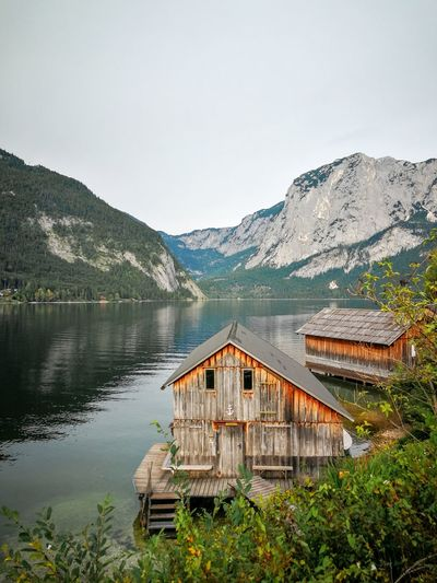 Amazing lake in austria. - the place where james bond were on his mission in spectre movie.