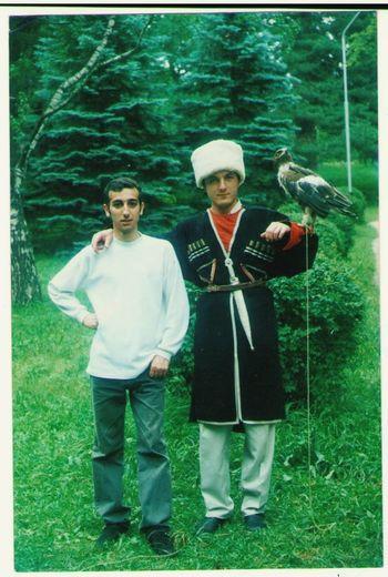 1999г Кисловодск..,,совсем зелёные😆🙈👍