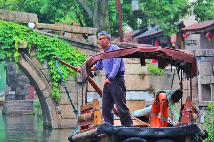Hello World Taking Photos Enjoying Life Zhouzhuang People