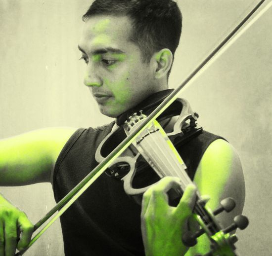 My symphony with my electric violin Exist That's Me EyeEm Indonesia Onthestage #violinplayer
