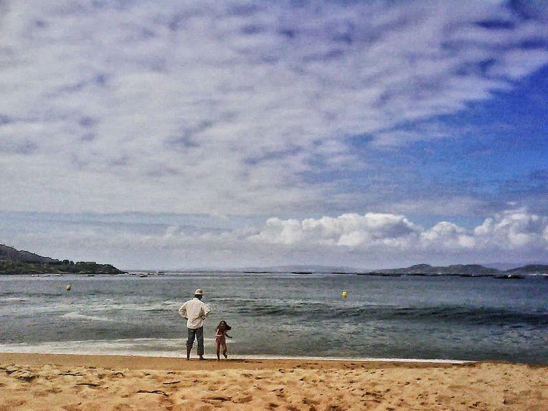 Ría De Aldán Galicia, Spain Sand Sea Sky Atlantic Ocean Aldan Galicia Area Brava Beach