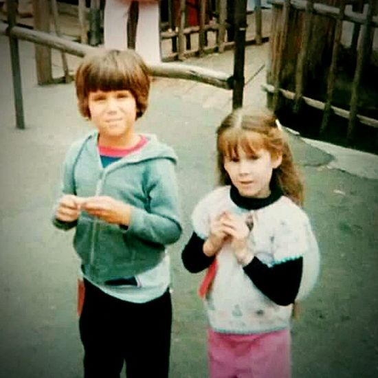 It's National Sibling Day....circa 1977, with my brother at Disneyland....