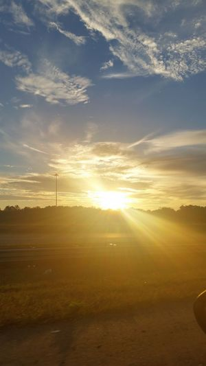 Florida Sunset Relaxing Drive Home Love Life <3
