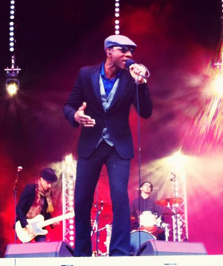 Aloe Blacc @ SOUL IM HAFEN / Dockville '14 Check This Out Night Lights Concert Taking Photos