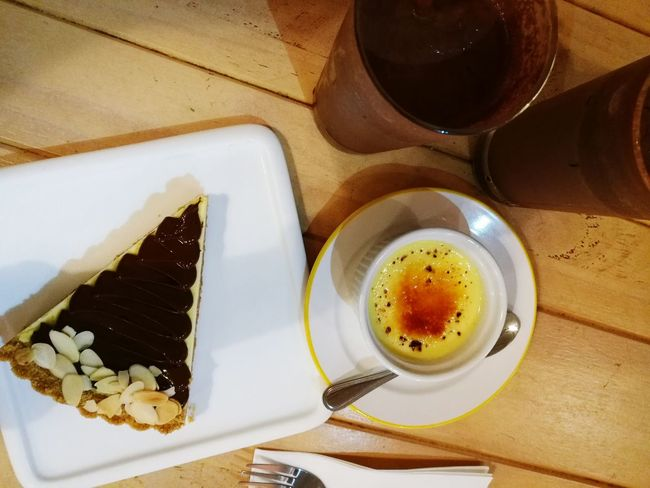 Desserts & Coffee Cakes Cheesecake♥ Coffee Time Coffee Coffee Cup Coffee - Drink Coffeefix Coffeefix✔️ EyeEm Selects Food And Drink Table Food Freshness Indoors  Ready-to-eat Temptation No People Sweet Food Indulgence High Angle View Dessert Drink Plate Unhealthy Eating Close-up Day