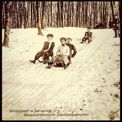 Winteriscoming in Darmstadt 1914