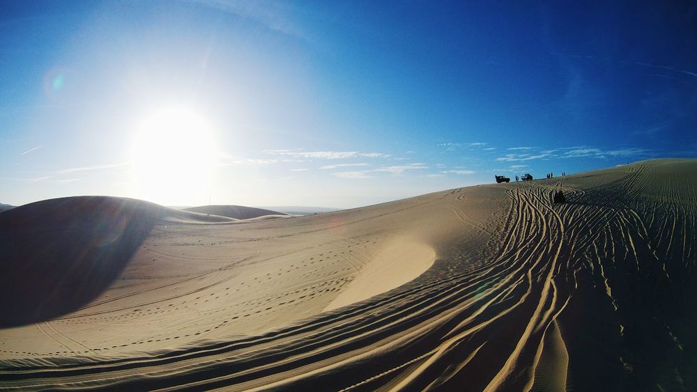 Adventure Arid Climate Beauty In Nature Day Desert Environment Extreme Terrain Heat - Temperature Landscape Muine Nature Outdoors Physical Geography Remote Sand Sand Dune Scenics Sky Sun Sunlight Tranquil Scene Travel Destinations Vacations Vietnam