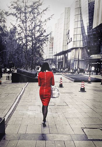 The Red Asian Girl Fashion Photography Fashion&love&beauty Fashion Backview Snapshots Of Life Colors C'est Beau. IPhoneography Hanging Out Check This Out