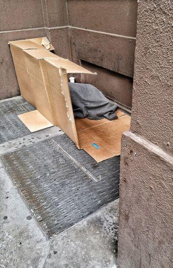 Raw Street Photography Unfortunate Reality NYC