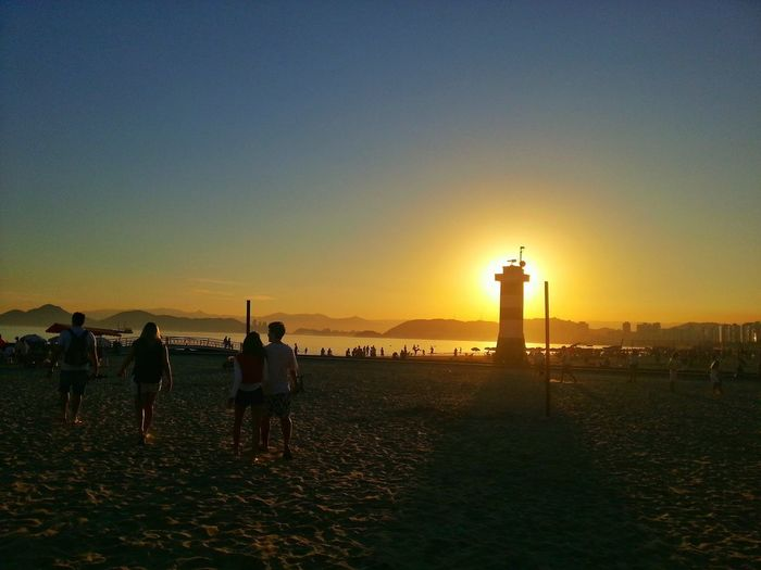 Sunset Santos