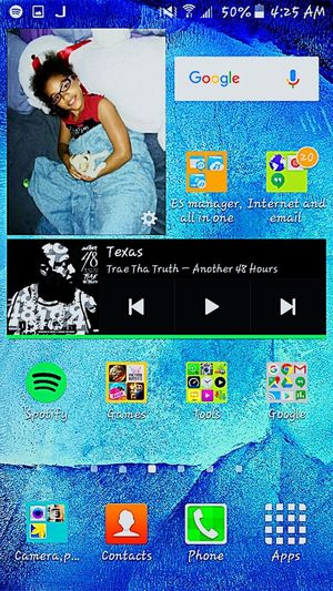 My new and improved main screen. ..android rocks