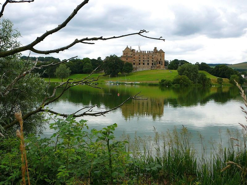 Linlithgow Palace ~ Beauty In Nature Castle Cloud - Sky Day Grass Lake Landscape Linlithgow Linlithgow Palace Majestic Mary Queen Of Scots Natural Disaster Nature No People Outdoors Royal Scenics Scotland Sky Tranquility Travel Destinations Tree Water