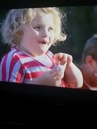 this show Sydnei has me watching..honey boo boo or something lol
